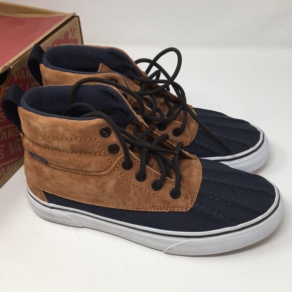 4df8743d83 VANS SK8 Hi Del Pato All Weather Shoes Size 6.5 8